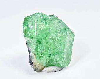 Mint Green Tsavorite Grossular Garnet from Tanzania, Africa 30