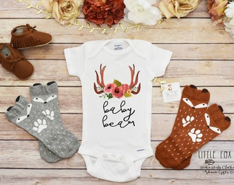 Baby Bear Shirt, Baby Boy Clothes, Baby Girl Clothes, Baby Shower Gift, Cute Baby Onesies