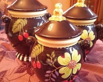 Eileen Tramonte Ceramic Canister Set