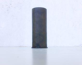 World war 1 Brass shell vase, Trench Art Vase, wwi trench art, poppy art, military gifts