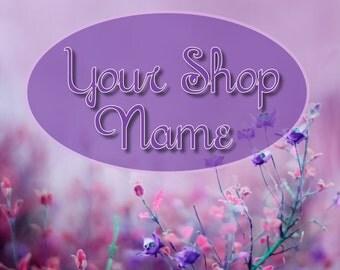 Shop Banner Set, Custom Banner, Banner Set, Floral Banner Set, Banner Design, Graphic Design, Cover Photo, Premade Banner,