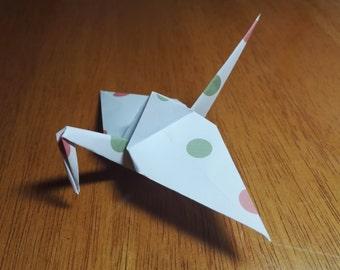 20 Origami Crane Wedding Favors Baby Girl P1/5