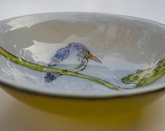 Bird - soup bowl #1019B2
