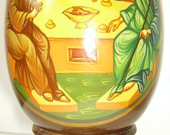 icons painted on wooden eggs 4