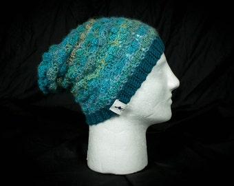 Seafoam Crochet Womens Small Slouch Hat