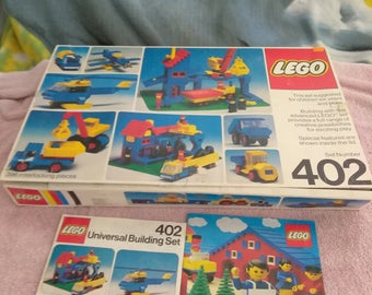 Vintage 1976 396 piece Lego Set 402 in original Box