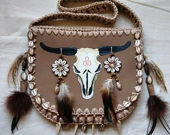 Handmade Leather bag.
