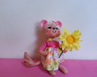Annalee Spring Daisy Mouse!