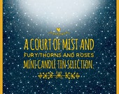 A Court Of Mist And Fury Mini Candle Tin Selection