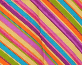 Rainbow Home Dec Fabric Cute Colorful