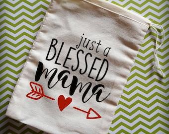 Muslin Bag with Saying