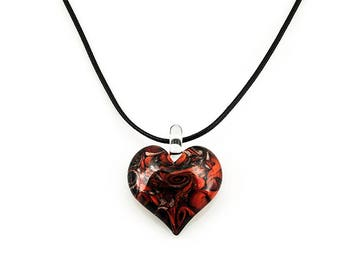 Vortex Heart Pendant