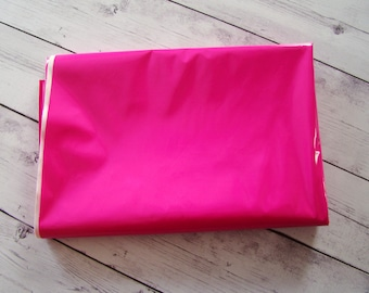 Bright Pink Pleather