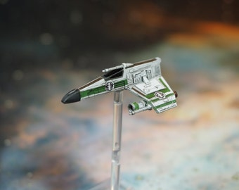 Custom Painted Corran Horn Corsec E-Wing - Star Wars X-Wing Miniature