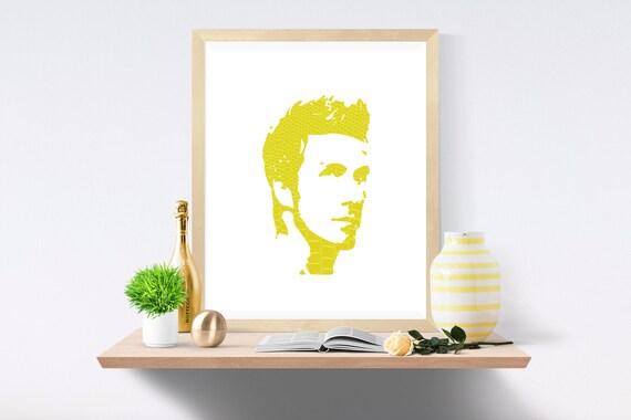 Beckham, David Beckham, Football, Soccer, Real Madrid, Manchester United, Premier League, Wall Art, Dorm Poster, Soccer Poster