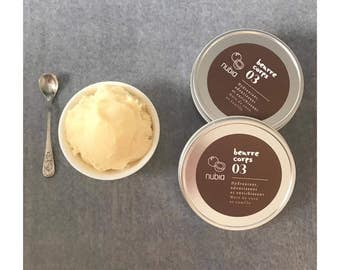 The coconut and vanilla body butter. 80 g