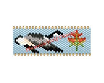 Canada Goose Spool Bead Pattern
