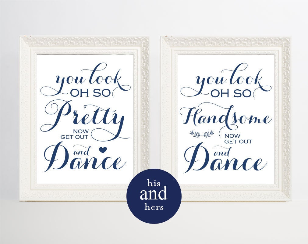 blue mens bathroom sign. Navy Blue Wedding Bathroom Signs, Men\u0027s Sign, His And Hers Mens Sign