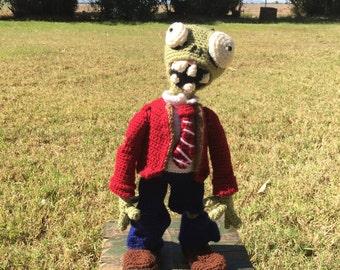 Crochet zombie stuff plush