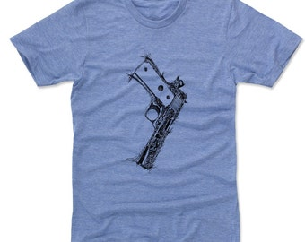 Gun Colt 45 K (AA) T-Shirt (am)