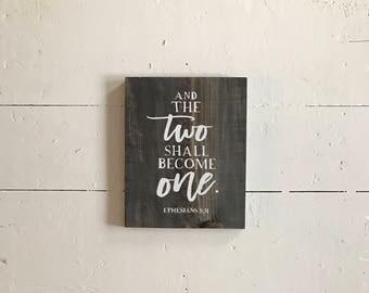 Made to Order • Ephesians 5:31