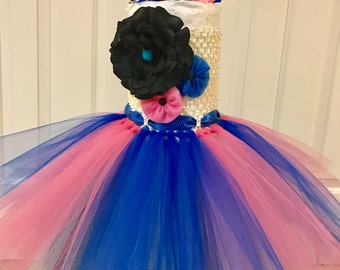 First birthday outfit girl,half birthday outfit girl , Baby girl tutu dress, pink tutu dress , birthday tutu outfit girl