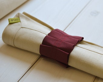 Pure flax linen napkin, linen, napkin holder, napkin, serviettering