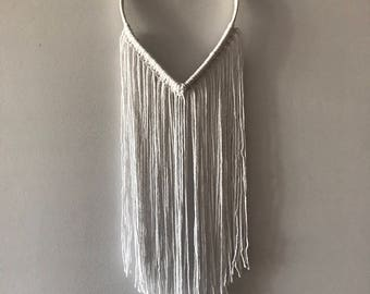 Simple Heart Wall Hanging. Wedding Decoration