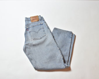 Vintage Blue Levis 560 High Waisted Mom Jeans