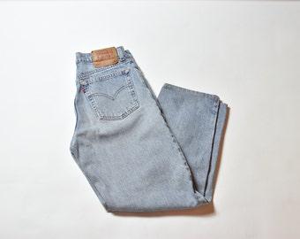 Vintage Blue Levis 560 High Waisted Mom Jeans