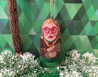 Log Lady Desk Ornament (Twin Peaks)