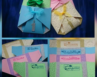 Handmade Baby shower invitation cards