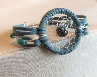 Blue Dream Catcher Bracelet