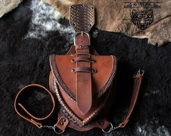 Leather Hip and Waist Bag