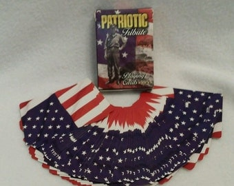 Patriotic Military Tribute Playing Cards complete set