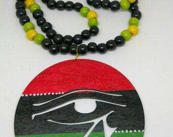Eye of Horus RGB necklace