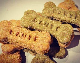 Dante's Personalized Dog Bone Biscuits /Healthy Dog Treats /Organic Dog Treats /Organic Dog Bakery /Personalized Pet Products /Dog Cookies