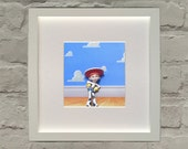 Toy Story Inspired Jessie 3D Effect Framed Wall Art
