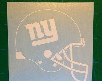 New York Giants Vinyl Sticker