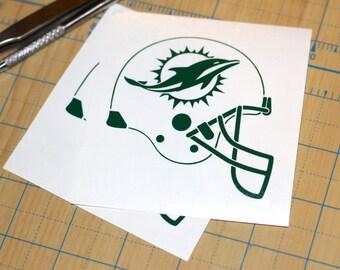 Miami Dolphins Vinyl Sticker