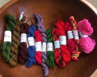 Wollmeise yarn minis