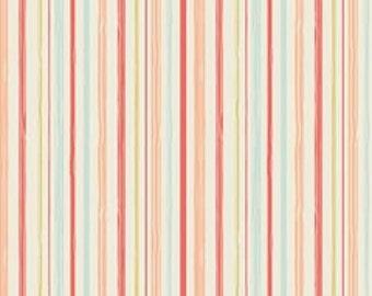 Riley Blake Woodland Stripe Coral