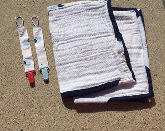 Baby shower gift set -Baby Beluga