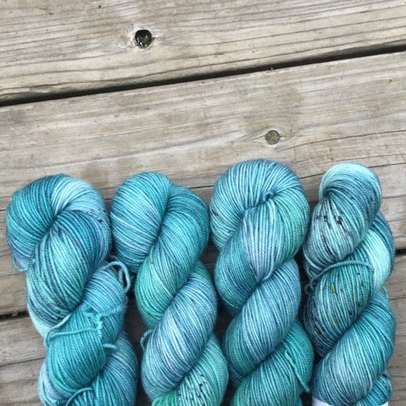 Aquamarine - Squish - Superwash Merino  - 328 yards