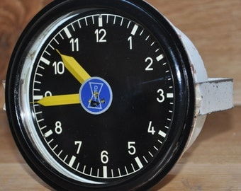 Deutsche Bahn German Railway 8 day diesel train drivers clock