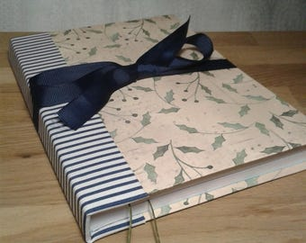 Nice Notebook Sketchbook Hand made Bow