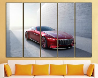 Mercedes Maybach canvas Mercedes Maybach print Mercedes Maybach wall art Mercedes Maybach wall decor Mercedes Wall Art Canvas Print Decor