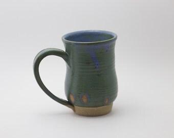 11 oz green mug