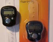 Black Digital Finger Counter