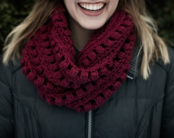Puff Stitch Cowl - more colors available